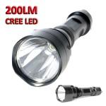 Ισχυρός Φακός LED 3W 200 Lumens CREE F-A8
