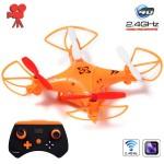 Τηλεκατευθυνόμενο Τετρακόπτερο Mini Drone 5CH 6Axis Gyro 2.4GHz με Κάμερα 480p & Head Lock