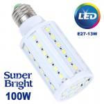 Λαμπτήρας Οικονομίας LED Υψηλής Φωτεινότητας Corn XPower E27-13W
