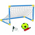 Σετ Ποδοσφαίρου με Τέρμα, Μπάλα, Τρόμπα & Σφυρίχτρα