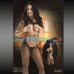 Ολόσωμο Σέξυ Καλσόν με Σχέδιο Δίχτυ Αράχνης 8887 - Sexy Lingerie Bodystockings