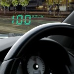 Head Up Display Set Αυτοκίνητου HUD με Αντανακλαστική Επιφάνεια & Αντιολισθητική Βάση