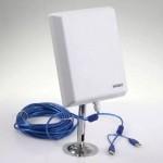 Εξωτερική Αδιάβροχη Κεραία WiFi Μεγάλης Εμβέλειας USB WIFISKY WF-N360