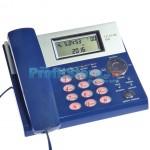 Επιτραπέζιο Τηλέφωνο με Αναγνώριση Κλήσης, Οθόνη & Μεγάλα Φωτιζόμενα Πλήκτρα Telecom 800