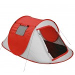 Αυτόματη Σκηνή Camping 3 Ατόμων Pop Up 250x150x110cm με Σίτα & 2 Παράθυρα