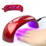 Φουρνάκι LED UV Νυχιών 9W για Επαγγελματικό Ημιμόνιμο Μανικιούρ - Πεντικιούρ