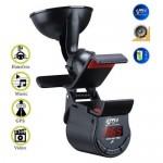 Βάση Αυτοκινήτου με Ασύρματο Πομπό FM Stereo, Bluetooth Hands-Free & Ηχείο