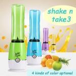 Μπλέντερ - Μπουκάλι Σέικερ Smoothies & Φρέσκοι Χυμοί - Shake n Take 3 - 2 Bottle Edition