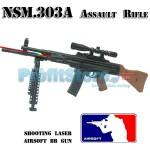 Αεροβόλο Όπλο Μοντελισμού Τύπου M303.A Assault Rifle