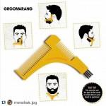 Χτένα Περιποίησης για Μούσι & Μουστάκι - Groomarang Beard Styling Comp