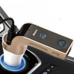Πομπός Αυτοκινήτου για τη Μετάδοση Μουσικής με Κάρτα microSD, Bluetooth και Φορτιστή