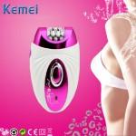 Επαναφορτιζόμενη Γυναικεία Αποτριχωτική & Ξυριστική Μηχανή 3 σε 1 KEMEI ΚΜ-205
