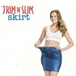 Ελαστική Φούστα Τζιν TRIM'n'SLIM skirt χωρίς Kουμπιά και χωρίς Ραφές