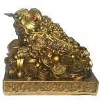 Βάτραχος Αφθονίας και Πλούτου σε πλίνθο 14Χ10.5 cm