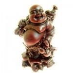 Βούδας Τύχης με Σάκο Νομισμάτων και Κολοκύθα