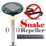Ηλιακό Απωθητικό Φιδιών με Φωτισμό LED - Solar Snake Repeller