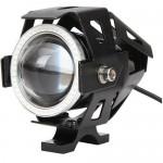 Προβολέας Μοτοσυκλέτας Led Cool 125W με Φωτιζόμενη Στεφάνη Angel Eyes