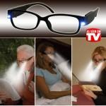 Γυαλιά Πρεσβυωπίας με Φωτισμό LED - EasyLight Reading Glasses Φακός +4.00