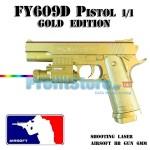 Αεροβόλο Όπλο Μοντελισμού Πιστόλι FY609D Gold Edition