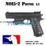Αεροβόλο Όπλο Μοντελισμού Πιστόλι N015-2 Black