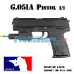 Αεροβόλο Όπλο Μοντελισμού Πιστόλι G.051A Black