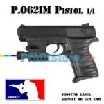 Αεροβόλο Όπλο Μοντελισμού Πιστόλι P.0621M Black