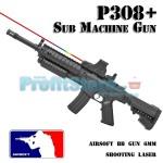 Αεροβόλο Όπλο Μοντελισμού P308+ Sub Machine Gun