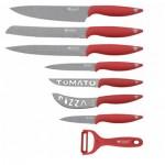 Σετ μαχαιριών 8 τεμ. ανοξείδωτο ατσάλι-επικάλυψη μάρμαρο-Marble Line- Blaumann BL-KS-0016