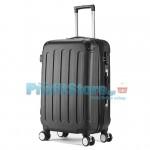 Βαλίτσα Καμπίνας από Ελαφρύ Σκληρό ABS με Ροδάκια Τηλεσκοπική Λαβή & Κλείδωμα Ασφαλείας