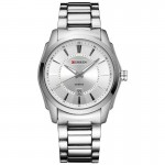 Ανδρικό Ρολόι CURREN M8072 Silver & White