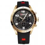 Ανδρικό Ρολόι CURREN M8167 Black & Gold