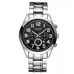 Ανδρικό Ρολόι CURREN M8050 Silver & Black