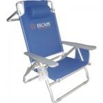 Καρέκλα-Ξαπλώστρα Θαλάσσης Αλουμινίου Escape 15692