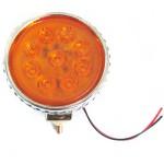 Στρογγυλό Κίτρινο Φανάρι - Προβολέας Αυτοκινήτου ή Φορτηγού LED 95mm 2.8W 8-30V