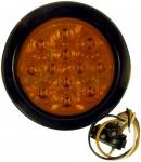 Στρογγυλό Κίτρινο Φανάρι Φλας Αυτοκινήτου ή Φορτηγού 170mm