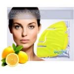 Αναζωογονητική και Λειαντική Μάσκα Προσώπου με Κολλαγόνο και Εκχύλισμα Λεμονιού (Υδρογέλη)
