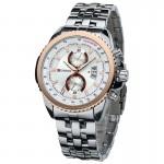 Ανδρικό Ρολόι CURREN M8082 Silver & Gold
