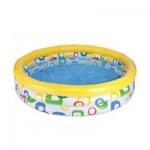 Φουσκωτή Παιδική Πισίνα 114x25cm Jungle Fun Pool Intex-59419
