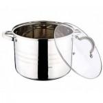 Κατσαρόλα 24cm με γυάλινο καπάκι-7.7L Gourmet Line- Blaumann BL-1010
