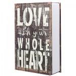 Βιβλίο Χρηματοκιβώτιο Ασφαλείας  Love-KBS-802