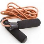 Δερμάτινο Σχοινάκι Με Βαρίδια Jump Rope Amila-44055