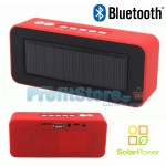 Ηλιακό Φορητό Ηχείο Bluetooth USB/SD Mp3 Player με FM Ραδιόφωνο & Handsfree