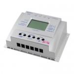 Ρυθμιστής Φόρτισης Φωτοβολταϊκών Πάνελ PWM-MPPT LCD T60 60Ah 12V/24V L60A