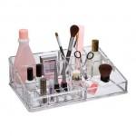 Διάφανη Θήκη Οργάνωσης Καλλυντικών, MakeUp και Κοσμημάτων
