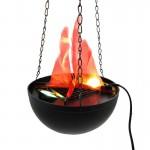 Εντυπωσιακό Κρεμαστό Φωτιστικό Flame Lamp με Εφέ Πραγματικής Φλόγας 20εκ