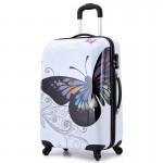 Βαλίτσα Καμπίνας ABS με Τηλεσκοπικό Χερούλι, Ροδάκια & Κλείδωμα Ασφαλείας Butterfly Μ60