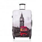 Βαλίτσα Καμπίνας ABS με Τηλεσκοπικό Χερούλι, Ροδάκια & Κλείδωμα Ασφαλείας London S50