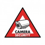 Αυτοκόλλητο CAMERA SECURITY 123x148mm KONIG- SAS-ST-CS