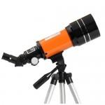Τηλεσκόπιο με Μήκος Εστίασης 150X, 3 Προσοφθάλμια και Τρίποδο για Σταθεροποίησή