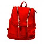 Γυναικεία Τσάντα - Σακίδιο Πλάτης Κόκκινο  29 x 32 εκ